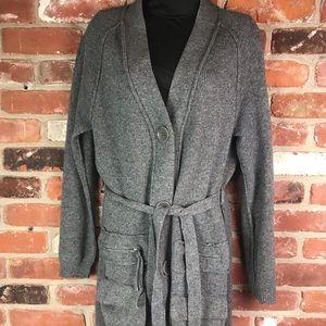 BCBGMAXAZRIA sweater coat size S